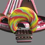 inflatable candy slide-02