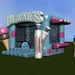inflatable dewars booth